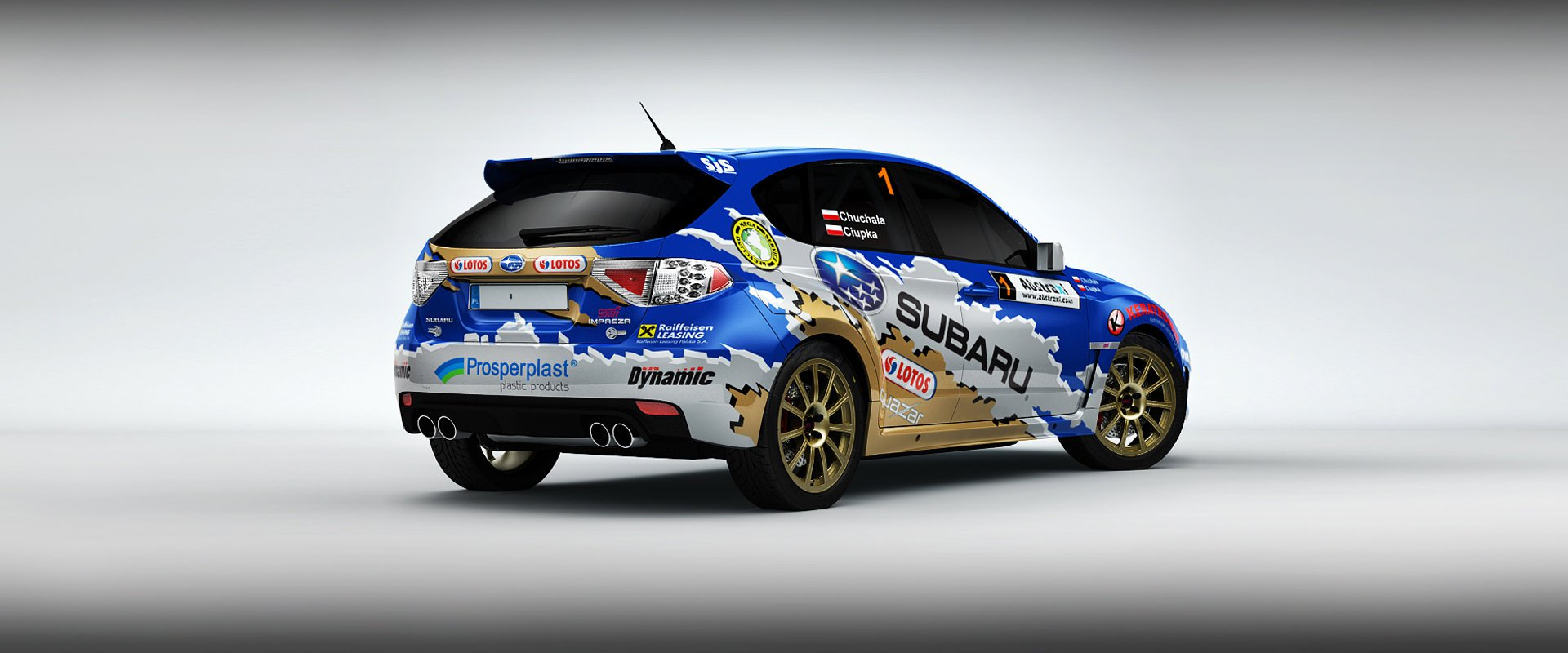 Subaru Poland Rally Team #3