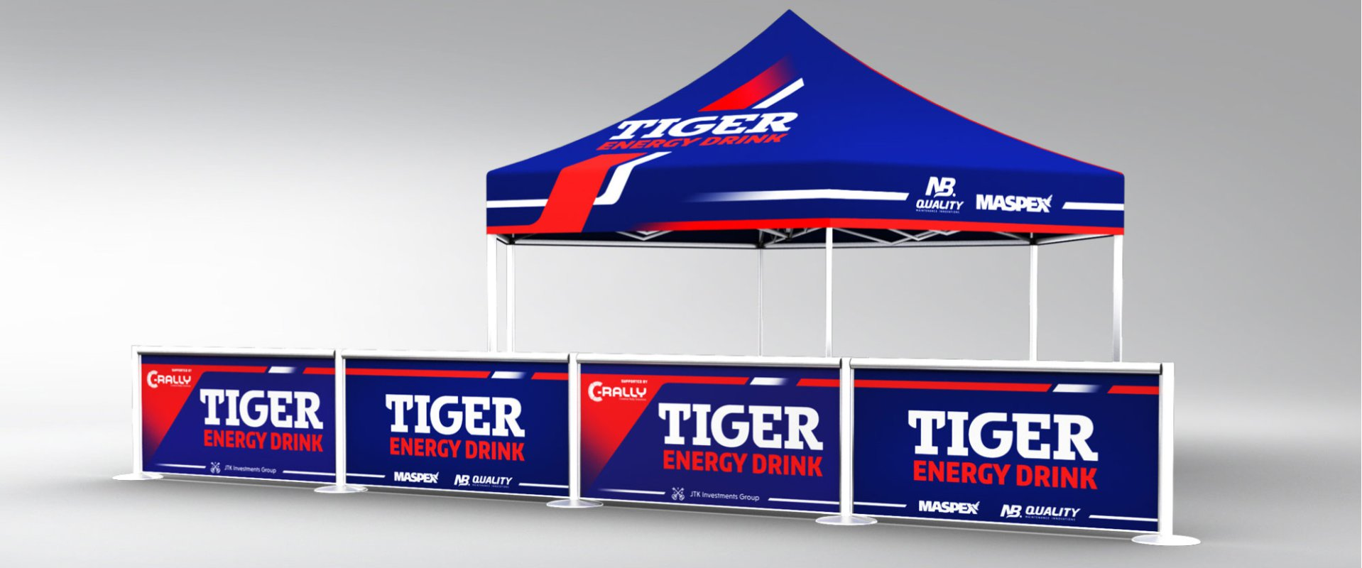 Tiger Energy Drink Rally Team #2
