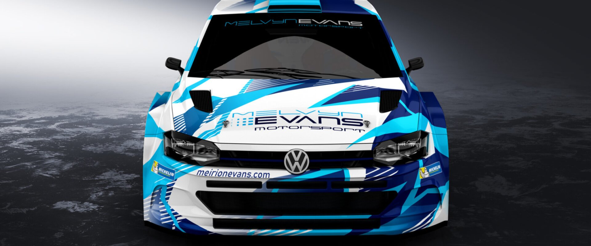 Galway International Rally unveil new colours of rally team evans