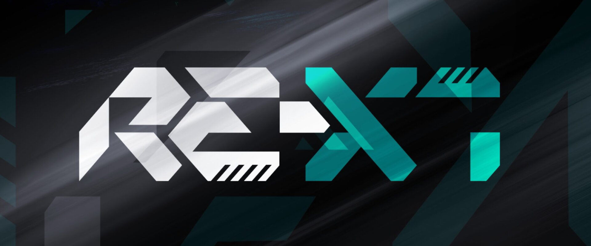 re-x1 logotype design for first electric rally car
