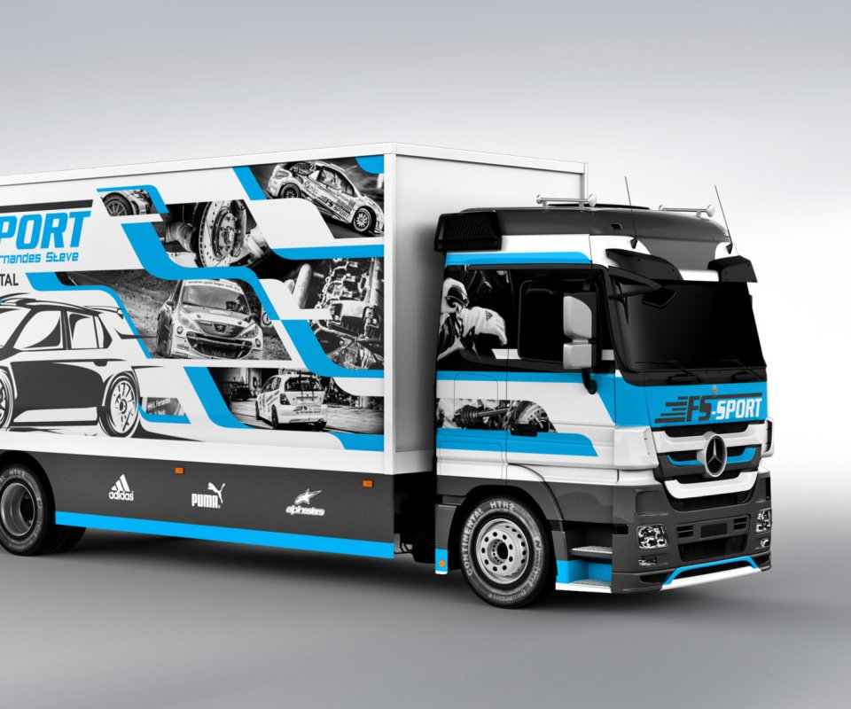 fs sport luxembourg liverydesign customlivery truckdesign