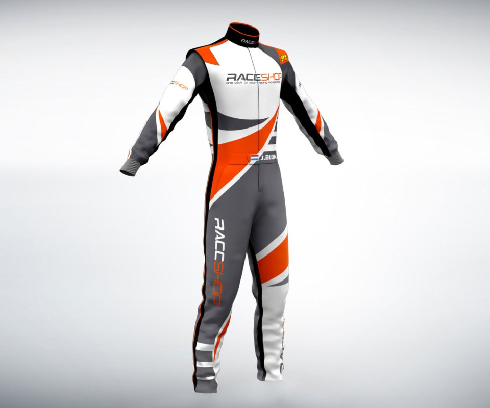 johny blom racing suit design