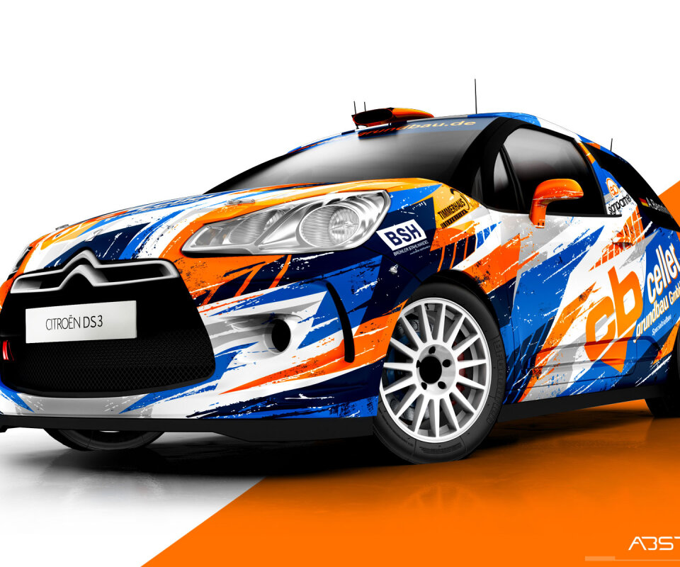 car folie rallye design