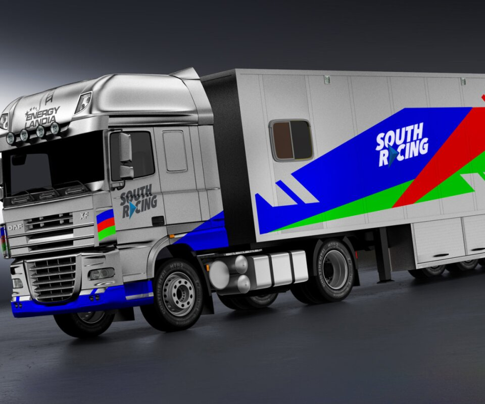 trailer and truck livery design
